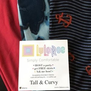 LuLaRoe Pants - 3 for $30 LuLaRoe leggings